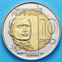 Филиппины 10 песо 2013 год. Андрес Бонифацио