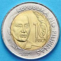 Филиппины 10 песо 2014 год. Аполинарио Мабини