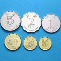 Гонконг набор 6 монет 1998-2013 год