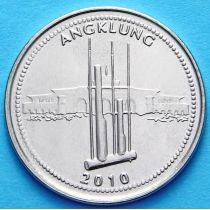Индонезия 1000 рупий 2010 год. Анклунг
