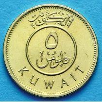 Кувейт 5 филсов 2013 год