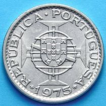 Макао Португальский 1 патак 1975 год.