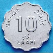 Мальдивы 10 лаари 1984 год. ФАО