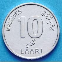 Мальдивы 10 лаари 2012 год