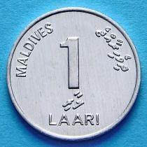 Мальдивы 1 лаари 2012 год.