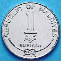Мальдивы 1 руфия 2007-2012 год