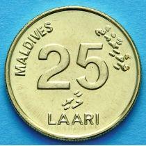 Мальдивы 25 лаари 2008 год