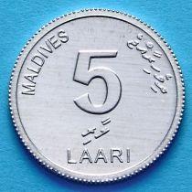 Мальдивы 5 лаари 2012 год