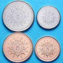 Оман набор 4 монеты 2015 год.