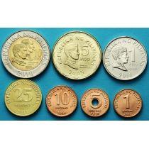 Филиппины набор 7 монет 1993-2014 год.