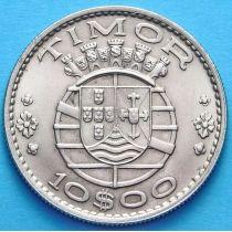 Португальский Тимор 10 эскудо 1970 год