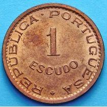 Португальский Тимор 1 эскудо 1970 год