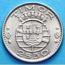 Португальский Тимор 2,5 эскудо 1970 год