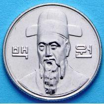 Южная Корея 100 вон 2015 год
