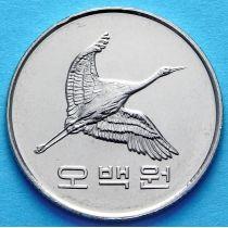 Южная Корея 500 вон 2012 год.