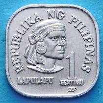 Филиппины 1 сентимо 1981-1982 год.