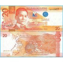 Филиппины 20 песо 2019 год.