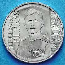 Филиппины 1 песо 2016 год. Генерал Артемио Рикарте.