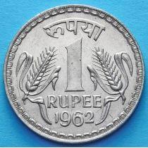 Индия 1 рупия 1962 год. Большой размер.