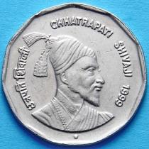 Индия 2 рупии 1999 год. Чхатрапати Шиваджи