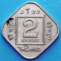 Британская Индия 2 анны 1919 год.