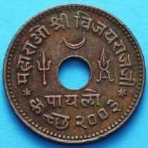 Индия 1 пайало (1/4 кач) 1947 vs2003, княжество Кач