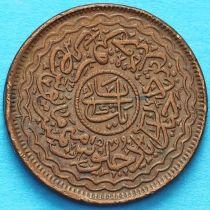 Индия 1 пай 1920 год, княжество Хайдарабад.