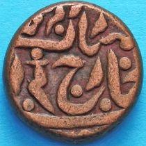 Индия 1/4 анны 1937-1939 год, без указания даты, княжество Джайпур. КМ# 143