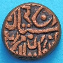 Индия 1/4 анны 1937-1939 год, княжество Джайпур. Км# 141