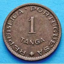 Португальская Индия 1 танга 1952 год.