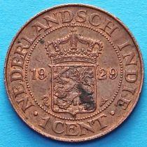 Нидерландская Индия 1 цент 1920-1929 год.