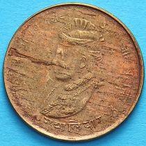 Индия 1/4 анны 1942 год, VS 1999, княжество Гвалиор.