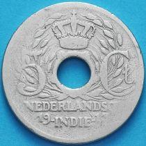Индия Нидерландская 5 центов 1913 год.