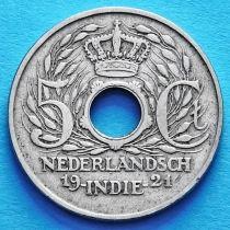 Нидерландская Индия 5 центов 1921 год.