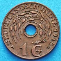 Нидерландская Индия 1 цент 1945 год. D.
