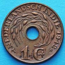 Нидерландская Индия 1 цент 1942 год. Р.
