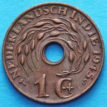 Нидерландская Индия 1 цент 1945 год. S.