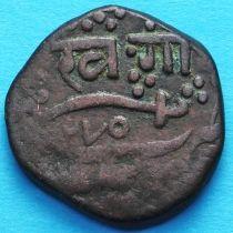 Индия 1 пайс 1858 год, княжество Барода.