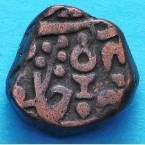 Индия 1 пайс 1902 год, АН1211, AD1796, княжество Датиа №1