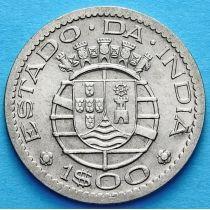 Португальская Индия 1 эскудо 1958, 1959 год.