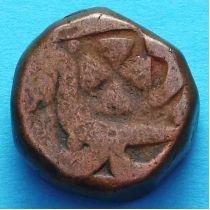 Индия 1 пайс 1762-1778 год, княжество Джайпур.
