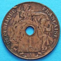 Французский Индокитай 1 сантим 1912 год. А.