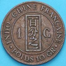 Индокитай Французский 1 сантим 1885 год. А.