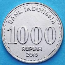 Индонезия 1000 рупий 2016 год.