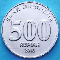 Индонезия 500 рупий 2016 год.