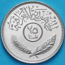 Ирак 25 филсов 1981 год.