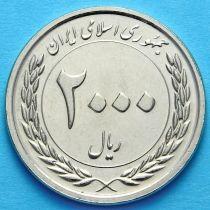Иран 2000 риалов 2010 год. 50 лет Центральному банку.
