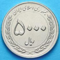Иран 5000 риалов 2010 год. 50 лет Центральному банку