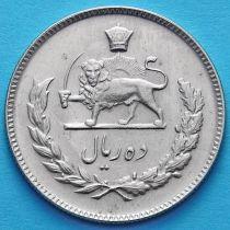 Иран 10 риалов 1968, 1971 год.