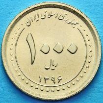 Иран 1000 риалов 2017 год. Мавзолей Шах-Черах в Ширазе.